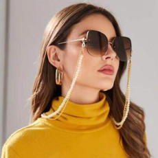 N-7260 Fashionable Style Reading Glasses Chain Fashion Sun Glasses Glasses Holder Neck Metal Eyewear