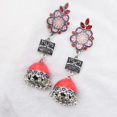 E-5780 Fashion Beads Bell Tassel Drop Dangel Earrings for Women
