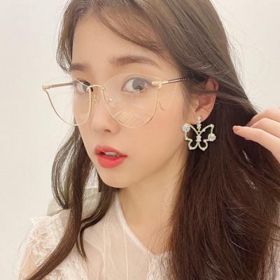 E-5863 Fashion Rhinestone Butterfly studs Earrings for Women Wedding Party Jewelry Gift