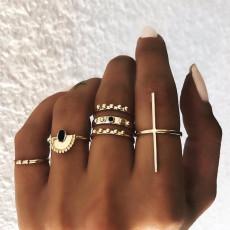 R-1530  Bohemian retro leaves tortoise Fish tail nail ring finger ring punk ring Jewelry gift
