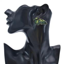 E-5955 Trendy Fashion Color Butterfly Rhinestone Earrings Party Gift Women Jewelry