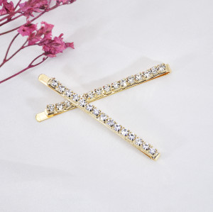 F-0843 3 PCS Bling Rhinestone Hairpins for Women  Girls Crystal Hair Clips Hair Accessories