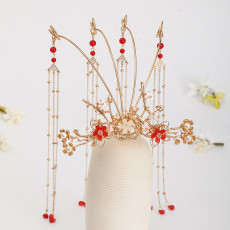F-0861 3 Style Exquisite Bridal Crystal Tiaras Crown with Comb Women Headband Wedding Hair Accessories