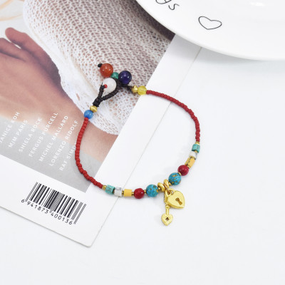 B-1103 Fashion Hot Selling Pearl Key Concentric Lock Bracelet New Style Jewelry Bracelet Gift