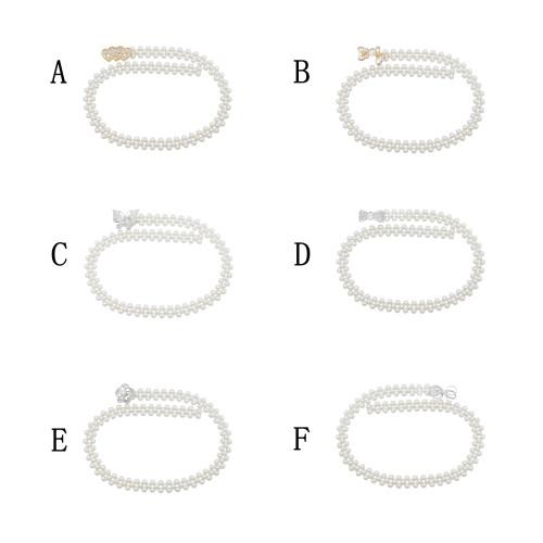 N-7504 Elegant Bridal Butterfly Heart Flower Pearl Elastic Waist Body Belly Chains Dress Belt Adjustable Body Jewelry