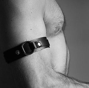 N-7530 European And American Fashion Cykpunk Black Leather Bondage Belt Belt Body Chain Boudoir Male Sexy Game Accessories