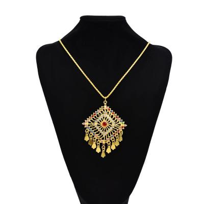 N-7585 Fashion Ethnic Gold Necklace For Women Party Jewelry 2021 Summer Fashion Boho Jewellery Chain Miyuki Tassel Necklace