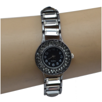B-0844 European Watches Bangle Crystal Rhinestone Women Bracelet Quartz Watch Casual Wristwatch