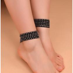 B-0853 Charm Flower Sinaya Beachy Cloth Anklet Bracelets For Women Jewelry