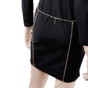 N-6897 New Fashion Bohemian Sexy Gold Bikini Belly Chain Body Chain Women Summer Beach Jewelry