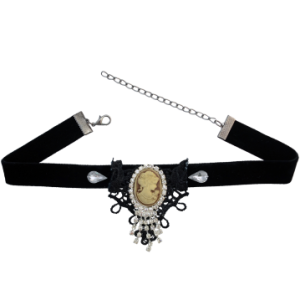 N-1579 Boho Vintage Choker Necklace Jewelry Rhinestone Pendants & Necklaces