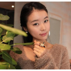 R-0742 New Fashion Rabbit Gold Plated Alloy Ring