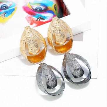 E-5271 Fashion Simple Abstract Art Alloy Drop Earrings for Women Jewelry
