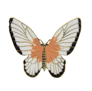 P-0440 Fashion Alloy Butterfly Brooch for Women Girl Dress Set Summer Party Accessories