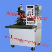 Commutator fusing machine