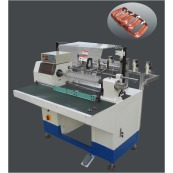 Multi-tap wire array automatic winding machine