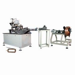 magnetic field coil winding machine