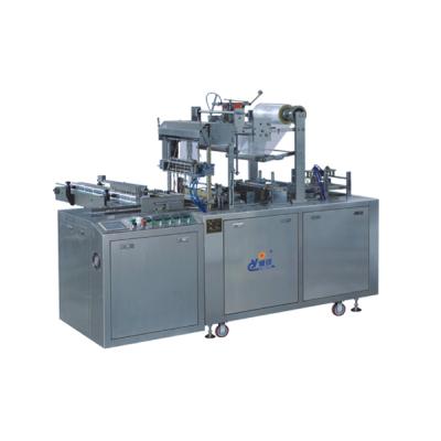 Пневматическая прозрачная пленочная трехмерная упаковочная машина типа CY2100A (с антиконтрафактной линией)