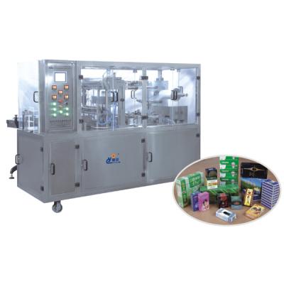 CY-2108B Tipo de Máquina neumática de embalaje de tres dimensiones de película transparente (con la cinta de anti-falsificación)