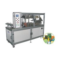 CY-2108A Tipo de Máquina neumática de embalaje de tres dimensiones de película transparente (con la cinta anti-falsificación)
