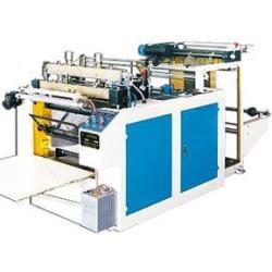Машина изготовления мешков посредством горячей закатки и горячей разрезки с компьютерным управлением DFR-500-700