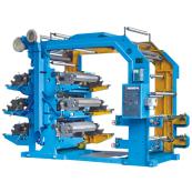 Шестицветная машина гибкой высокой печати типа YT