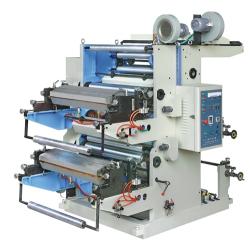 Двухцветная машина гибкой высокой печати типа YT
