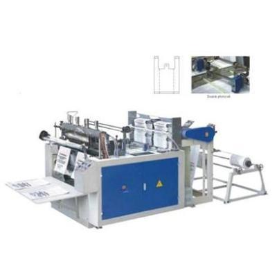 DFR-300X2,400X2 Máquina de corte y sellado en caliente para bolsas controlada por el compuradora (doble)