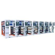 ASY-600、800、1000 Máquina impresora de rotograbado de seis colores