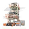 SJ Serie de Unidad de Máquina para film soplado de tres pisos y de cabezal giratorio
