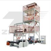 SJ Serie de Unidad de Máquina para film soplado de dos pisos y de cabezal rotativo