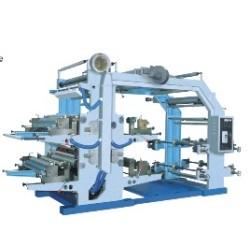YT من آلة الطباعة المحدبة مع اربعة الوان