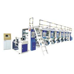 máquina de impressão côncave SWASY de velocidade alta de computador