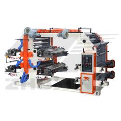 máquina de impressão releva YT de 4 cores flexíveis