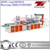 CY-SH-1000 Double Layer Four Lines Automatic T-shirt Bag Making Machine
