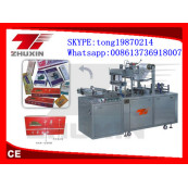 CY2100A Type Pneumatic Adjustable Cellophane Film Tridmensional Packer(Bringing Antiforging Pull Line)