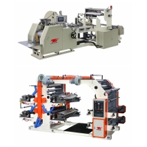 Automatic High Speed Food Paper Bag Machine with 4 color Printing Machine online