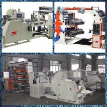 V sharp Bottom paper bag machine with flexo printing machine inline
