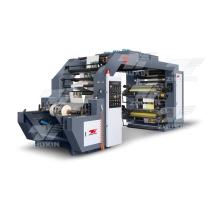 New type synchronous belt flexo printer machine 6 color