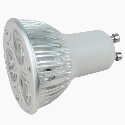 3W  aluminum GU10 spotlight