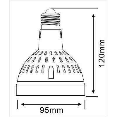 LED PAR30 Light 30W