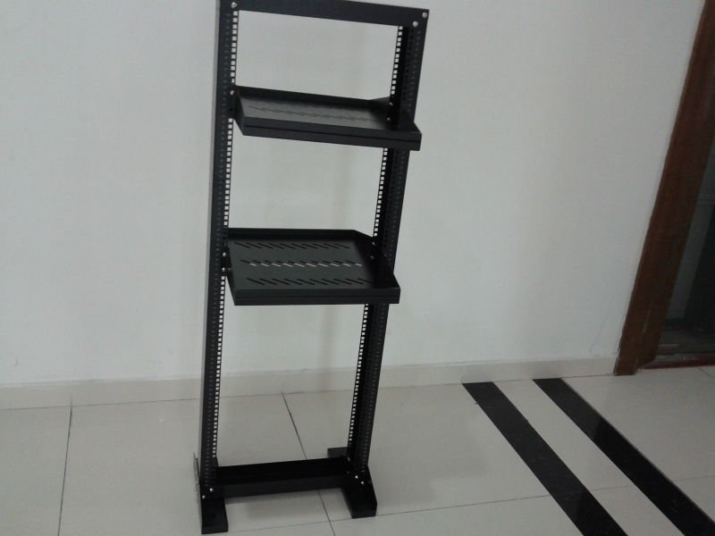 19 inch open server rack 2 or 4 post is available. Black Bedroom Furniture Sets. Home Design Ideas