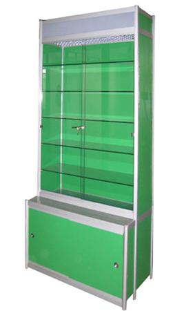 Glass display showcase FD-A005-1