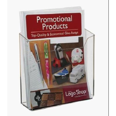 Acrylic wall mount brochure holders