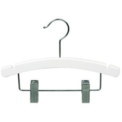 white acrylic clips hangers