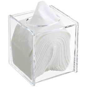 Acrylic Clear Napkin Paper Boxes Tissue box