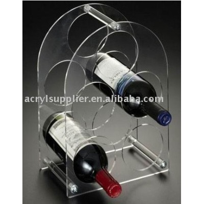 acrylic wine display holder