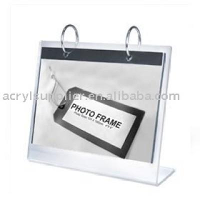 acrylic calender holder