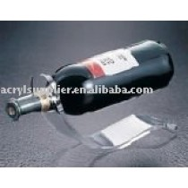 2012 acrylic wine rack with glass holder