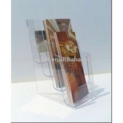 acrylic display stand for brochure